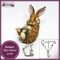 "Mobile Preview: Halskette ""Hase Ostara"" - 47 cm"