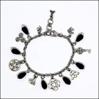 "Bettelarmband ""Black Witchcraft"""