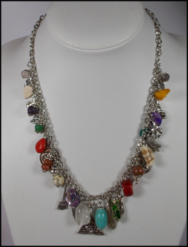 "Collier ""Colourful Witchcraft"" - Unikat"
