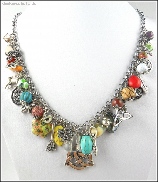 "Collier ""Celtic Witchcraft"" - Unikat!"
