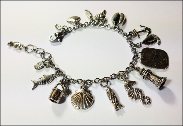 "Bettelarmband ""Dreaming of the sea"" - Unikat"