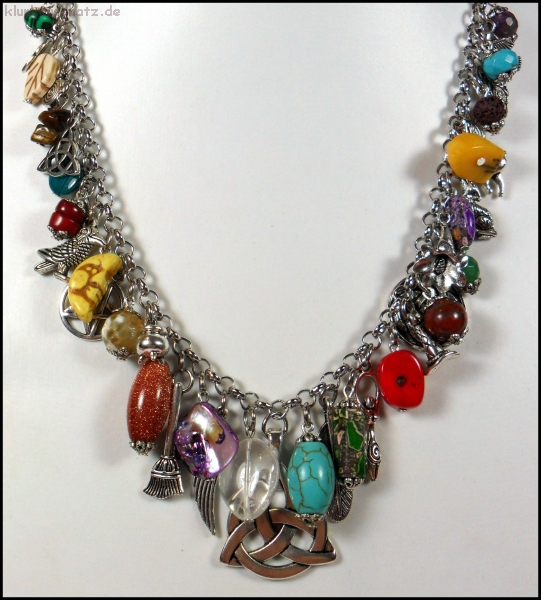 "Collier ""Witchcraft"" - UNIKAT"
